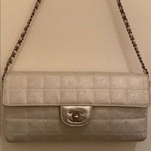 Chanel Travel Line Chocolate Bar Shoulder Bag